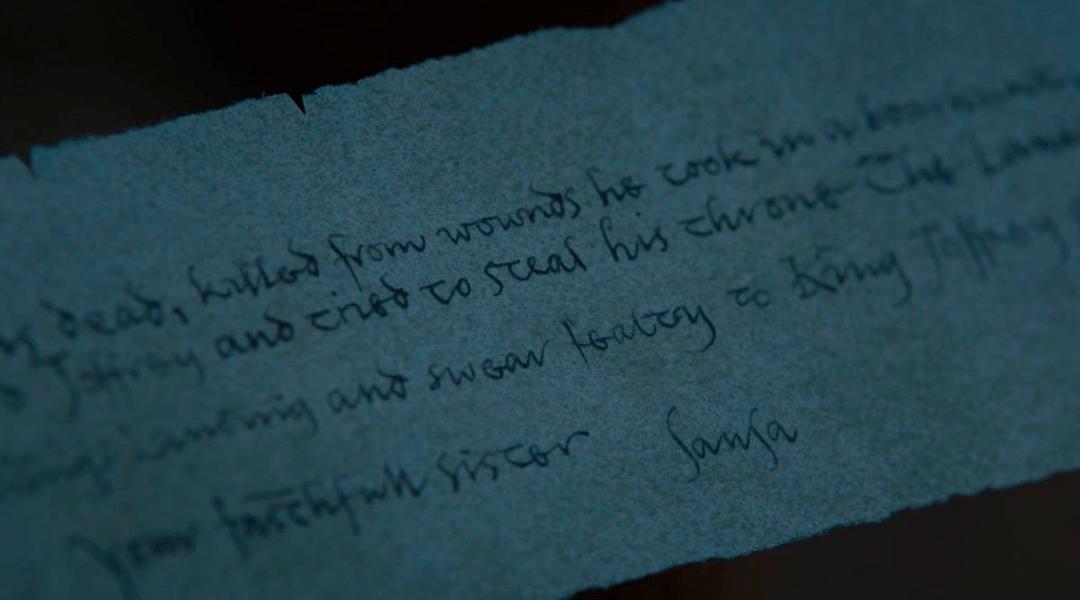 Qué significa encontrada por Arya en el último capítulo de GoT