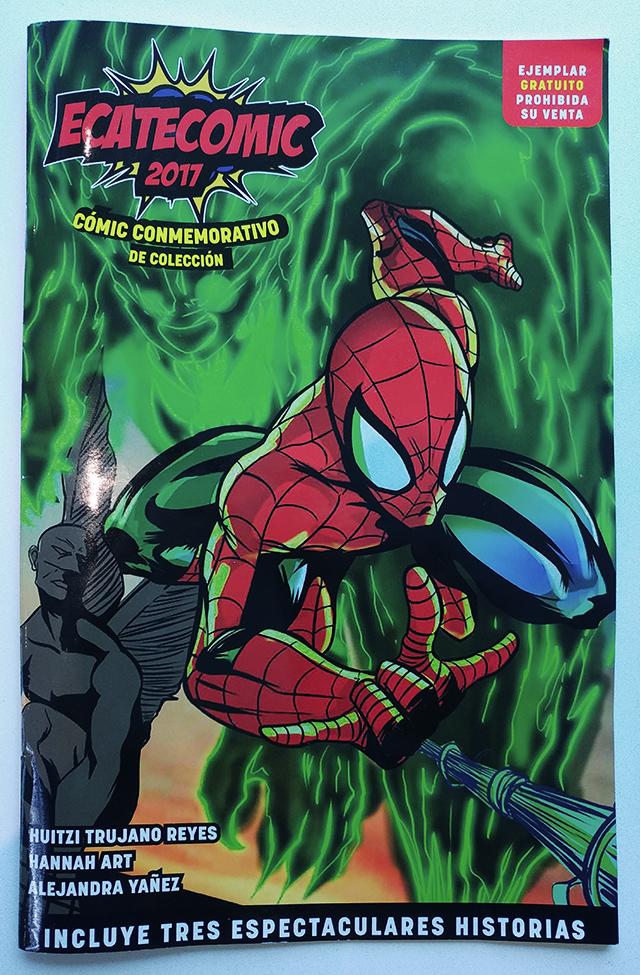 Portada de Spider-Man en Ecatecomic 2017