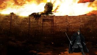 ¿Los personajes de Game of Thrones hicieron un cameo en Attack on Titan?
