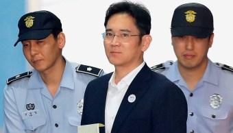 El heredero de Samsung pasará 5 años en prisión