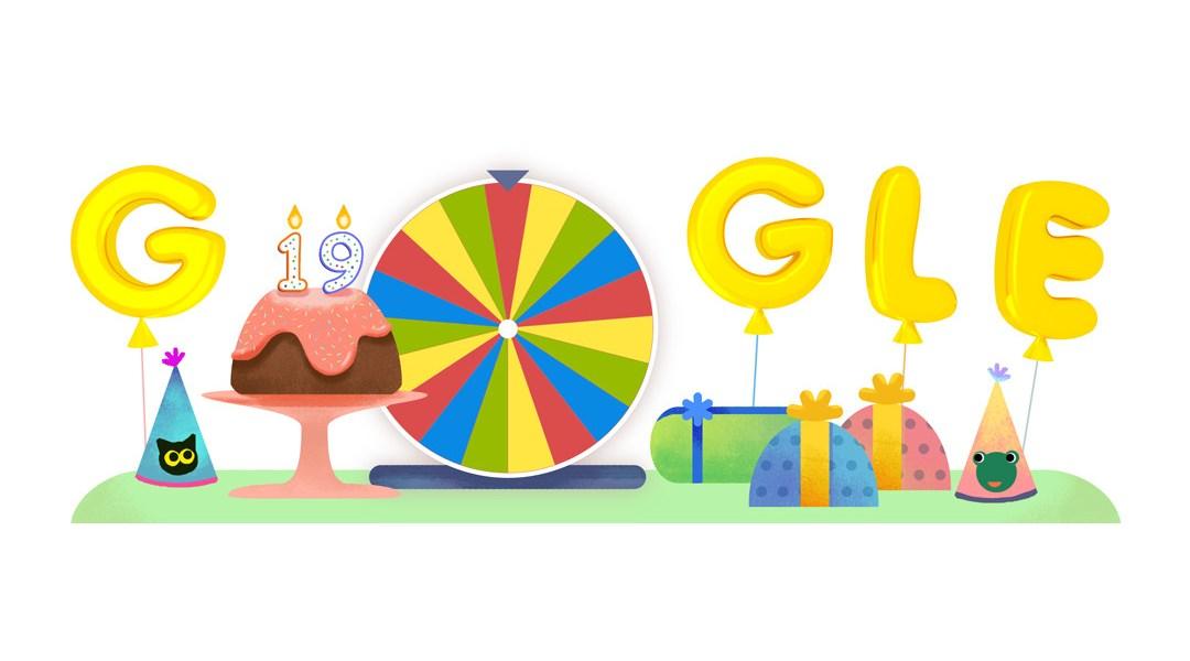 Google Celebra Su 19 Aniversario Con Sus Mejores Juegos