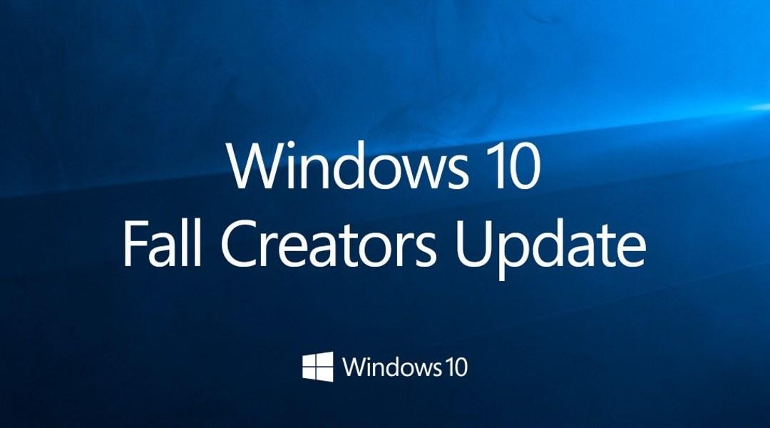 Fall Creators de Windows 10