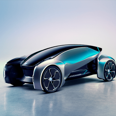 El concepto de Jaguar es una fiera autónoma con un volante extraíble