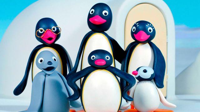 Pingu y sus amigos y familia
