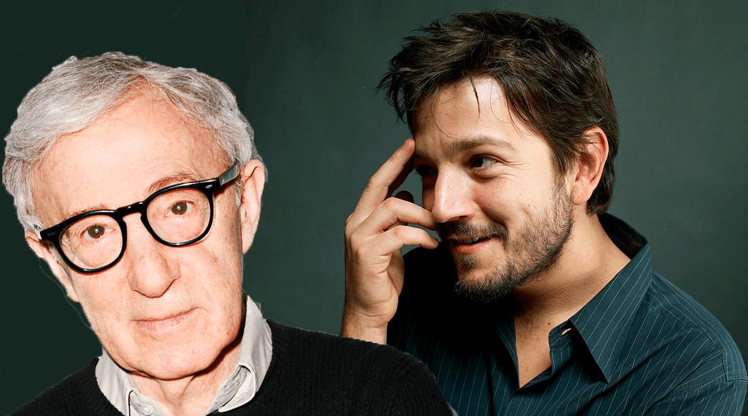 Woody Allen con Diego Luna en pelicula