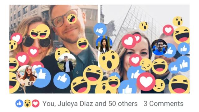 Facebook está agregando nuevos easter eggs a su aplicación