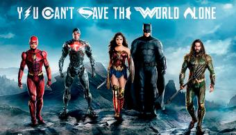 poster de la película Justice League