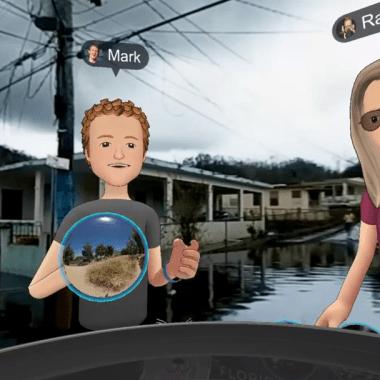 Mark Zuckerberg viaja de forma virtual las zonas afectadas de Puerto Rico