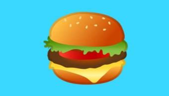 Hamburgesa emoji Android 8.1