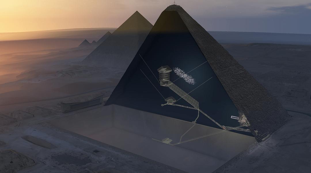 Encuentran cámara oculta en la gran pirámide de Guiza con rayos cósmicos