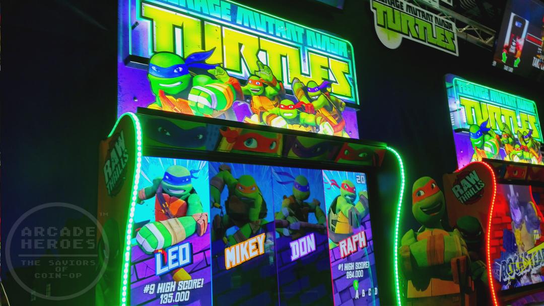 Nuevo arcade de TMNT