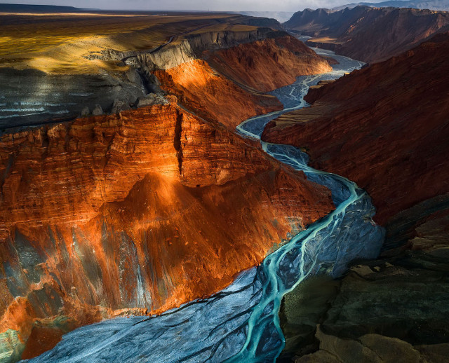 Dushanzi Grand Canyon. Second Place, Landscapes.