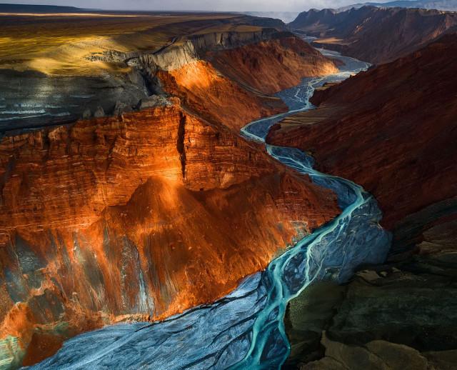 Dushanzi Grand Canyon. Second Place, Landscapes.