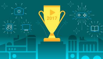 lo más descargado en Google Play en 2017