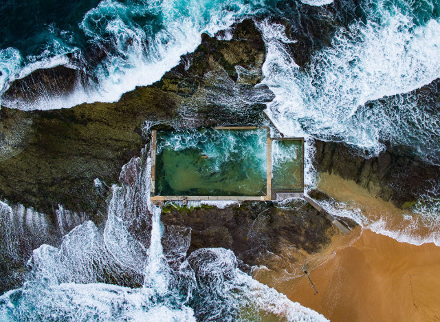Rock Pool. First Place, Aerials