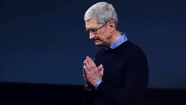 Tim Cook, el CEO de Apple