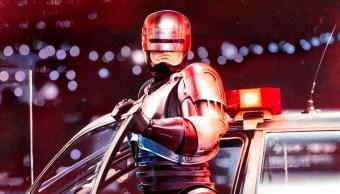 Un fragmento del poster oficial de RoboCop