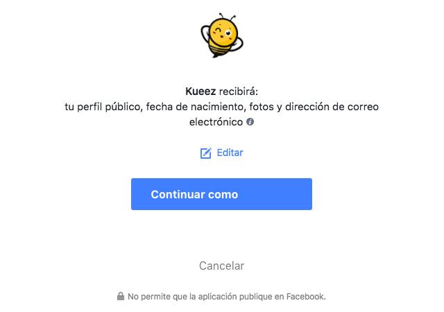 Facebook fecha sexo