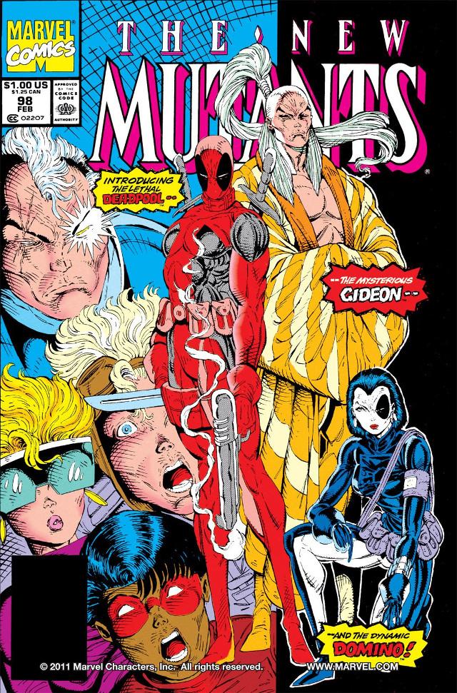 Portada de New Mutants 98