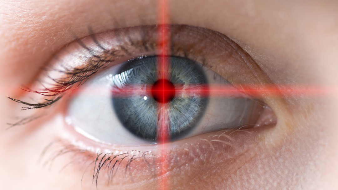 Human eye macro. Conceptual image.