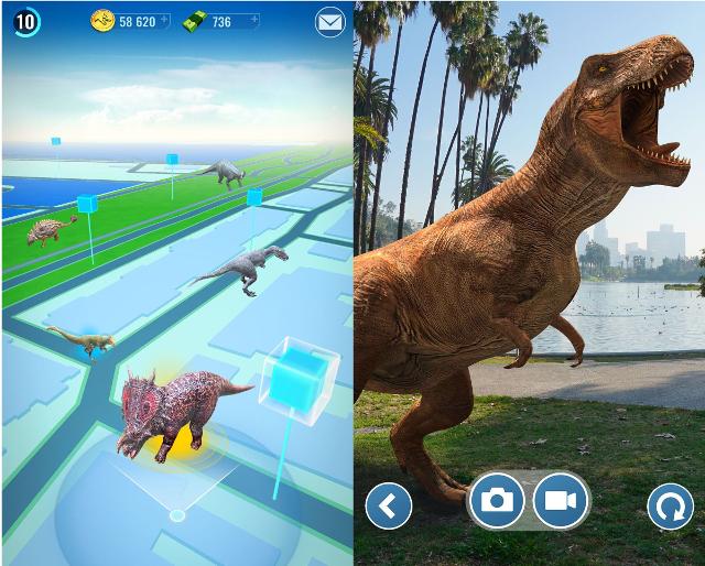 Universal presenta Jurassic World Alive, su copia de Pokémon Go