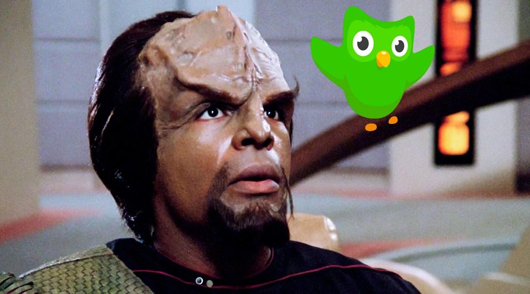 idioma klingon El klingon es el idioma ficticio más conocido de la galaxia hablado por los  extraterrestres del mismo nombre, este lenguaje de star trek es.