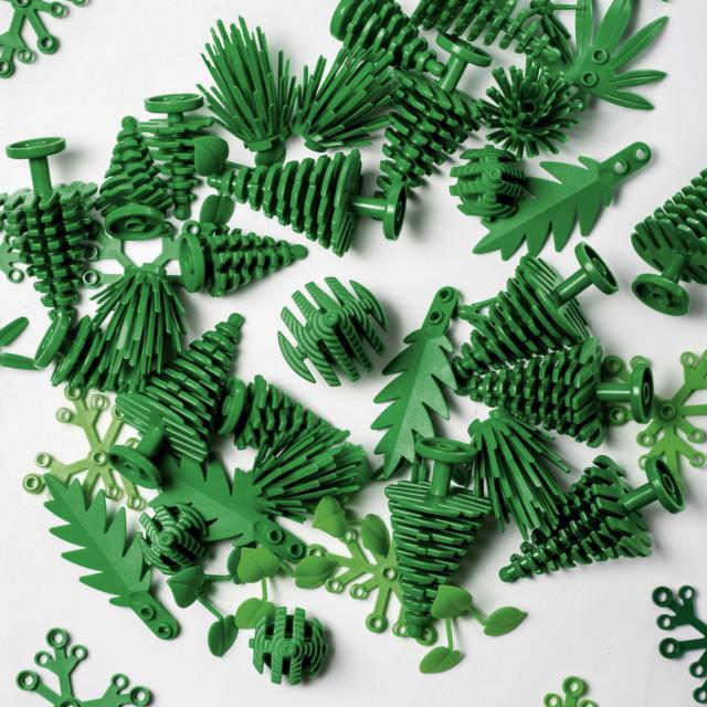 Las primeras piezas sustentables de Lego saldrán a la venta este año