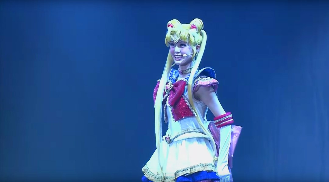 Sailor Moon musical video DVD Pretty Guardian