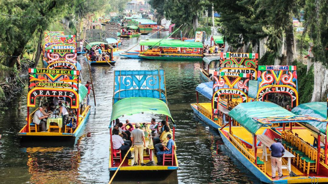Ahora puedes reservar tours en trajinera por Xochimilco a través de Internet