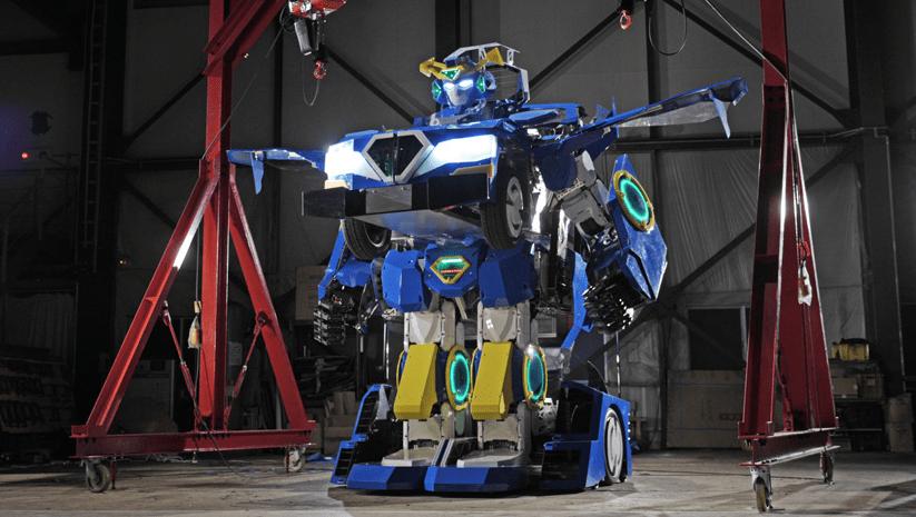 Nuestros sueños hechos realidad: Crean en Japón un verdadero Transformer