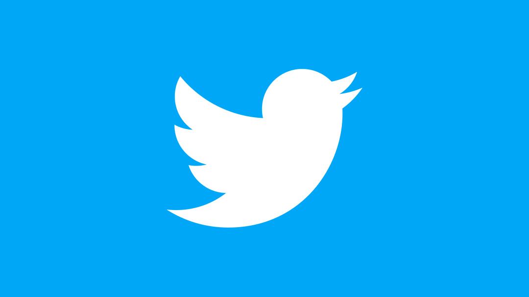 El logo de Twitter, la red social