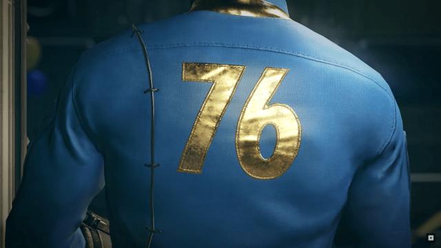 Imagen de Fallout 76, el nuevo juego de Bethesda