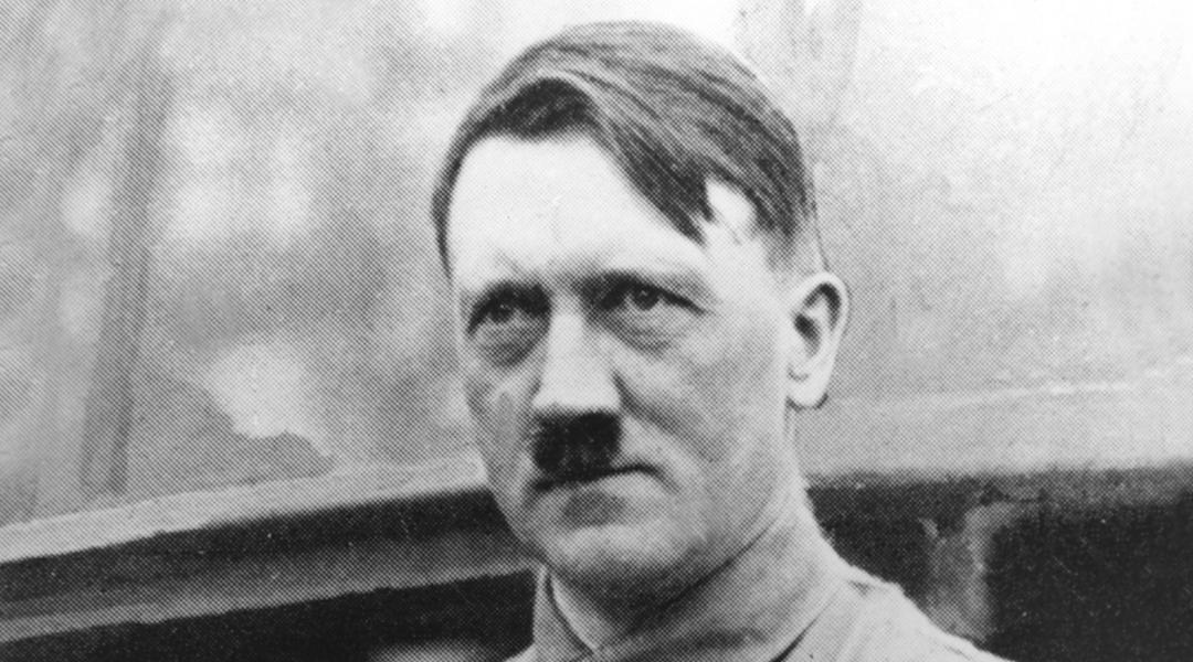 Adolf Hitler, dictador alemán en los años cuarenta