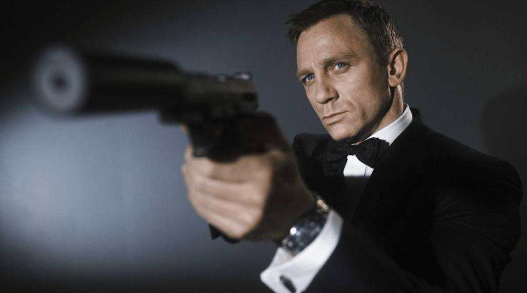 imagen promocional de película de James Bond