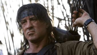 Sylvester Stallone como John Rambo viejo