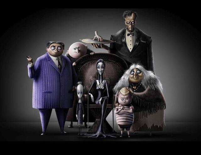 La nueva familia Addams en versión animada.