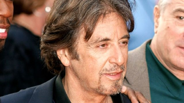 Al Pacino en una premiere de cine