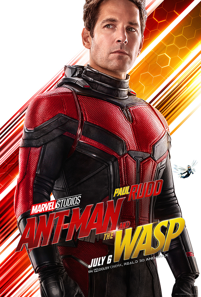Póster oficial de Ant Man and the Wasp