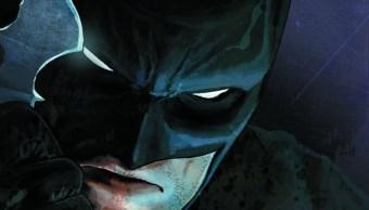 Un dibujo de Batman, el caballoro nocturno