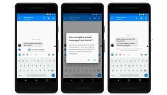 Facebook Messenger puede traducir entre inglés y español