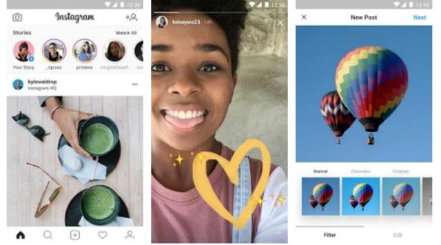 Instagram Lite: la app para los teléfonos con poca memoria