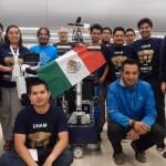 El equipo detrás de Justina, el robot de la UNAM