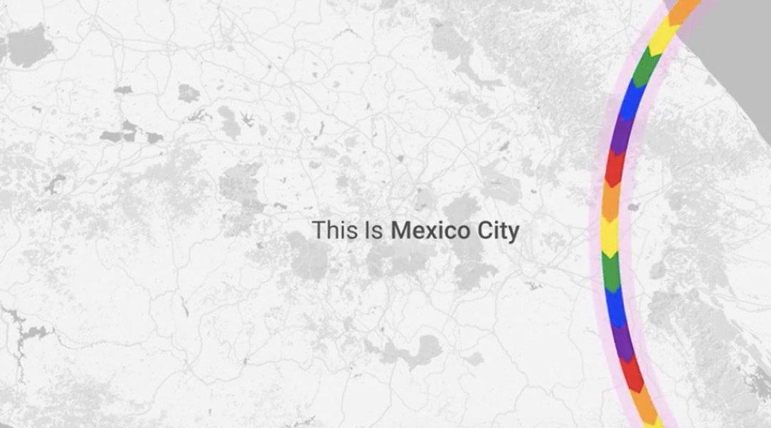 Google Maps y la marcha LGBTTTI