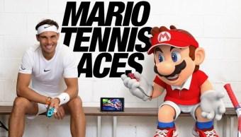 Mario Bros y Rafael Nadal juntos en un comercial