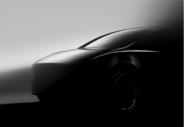 Imagen teaser de el nuevo Tesla Model Y