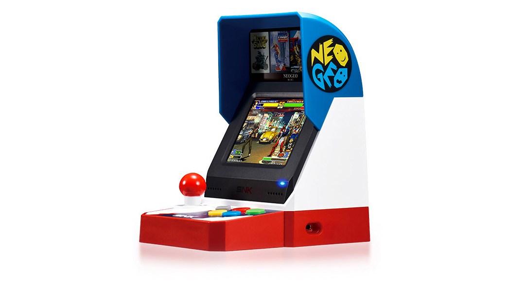 Así es la consola NEo Geo Mini
