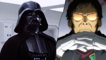 Darth Vader y Gendo Ikari, dos malos padres