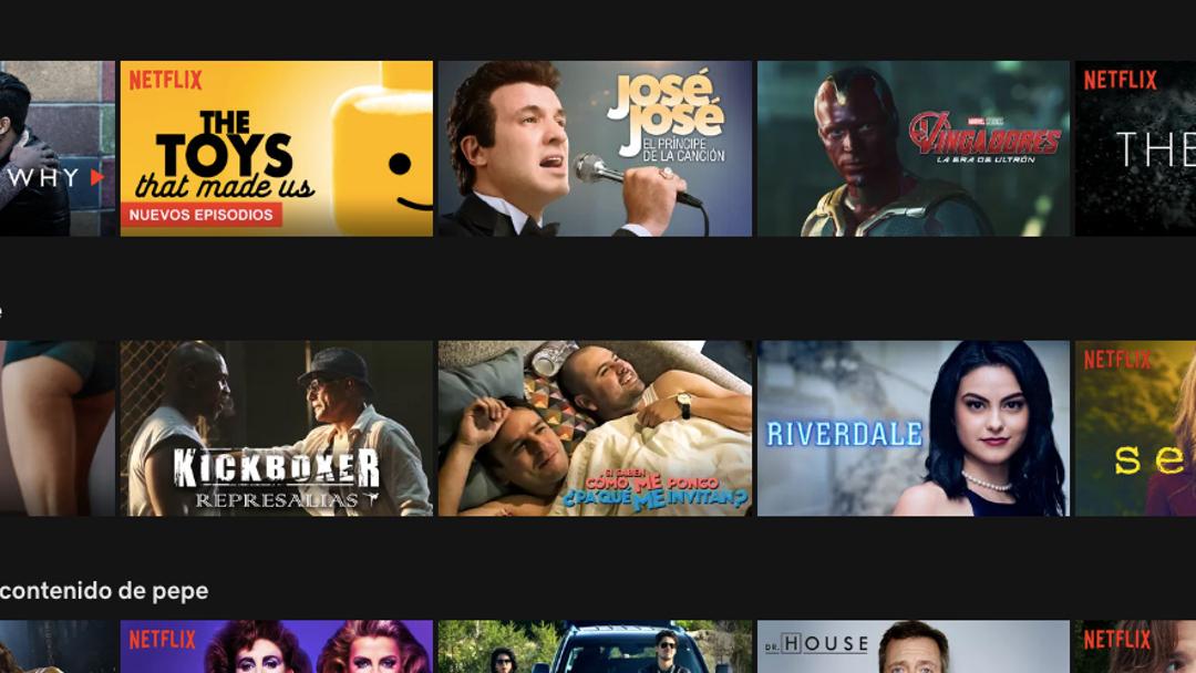 Así es como puedes pedir series y películas a Netflix
