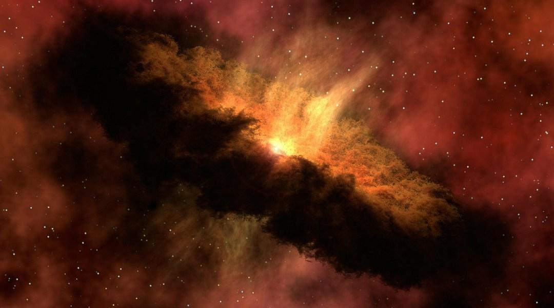 El Sistema Solar tomado en sus inicios