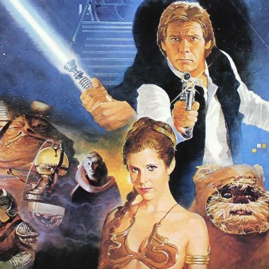 un poster promocional de El Imperio Contraataca